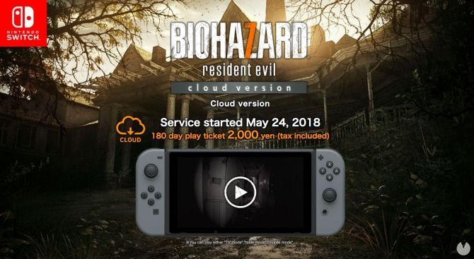 Resident Evil 7 fue anunciado para Swith en Japón como un juego en la nube CDD Juegos