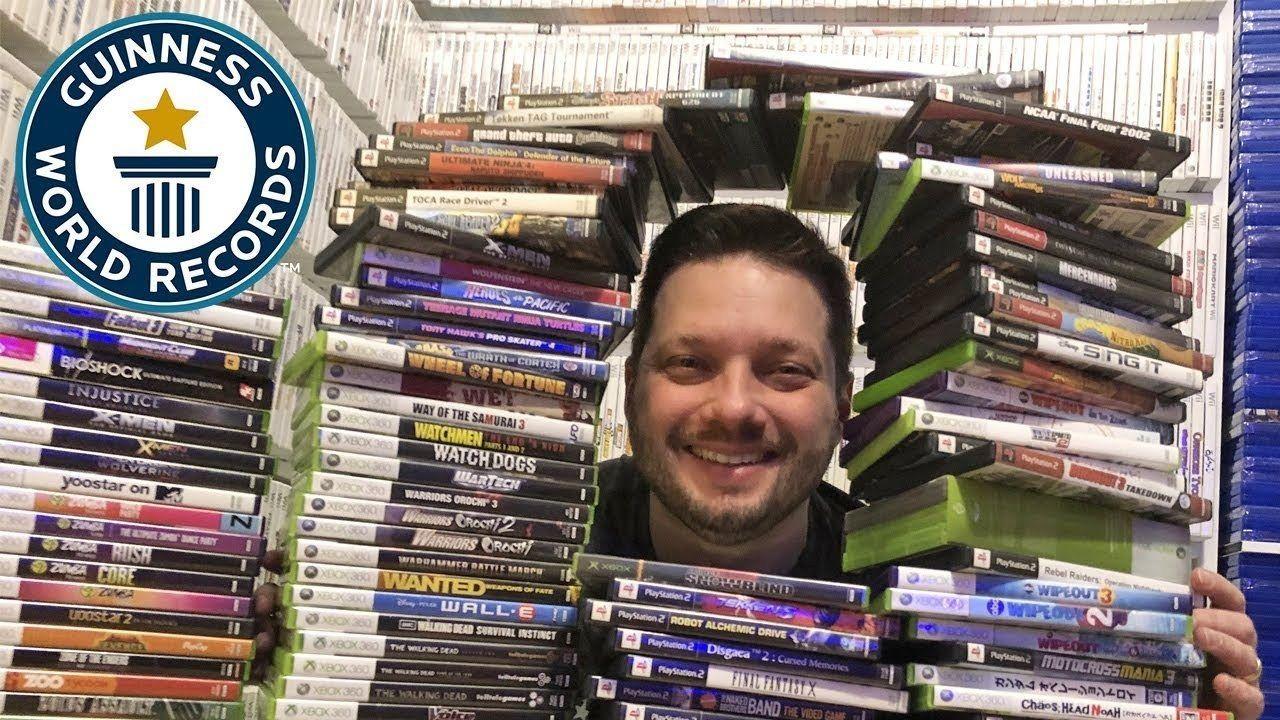 Conoce al hombre que posee la colección de juegos más amplia del mundo CDD Juegos