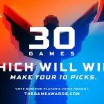 Ya comenzó la votación para el premio Players´s Voice en The Game Awards